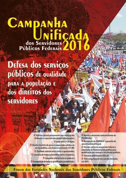 Campanha Salarial Unificada SPF 2016